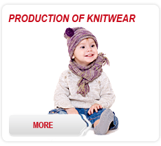 Production of knitwear