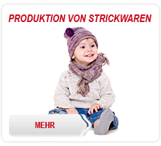 Produktion von Strickwaren